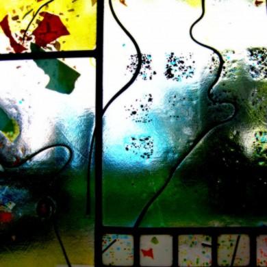 Kidd   Window panel, detail