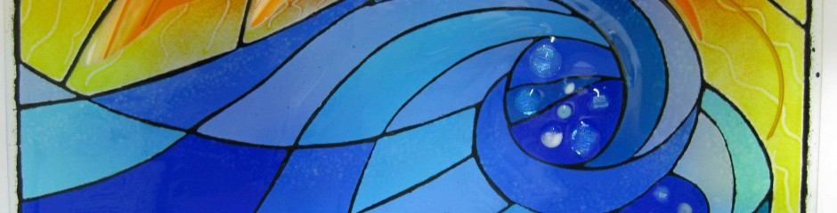 Course sample | I322 | Stained glass fused