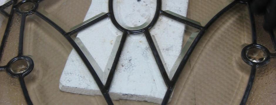 Restoration | Polished bevel detail, by Melanie Kidd