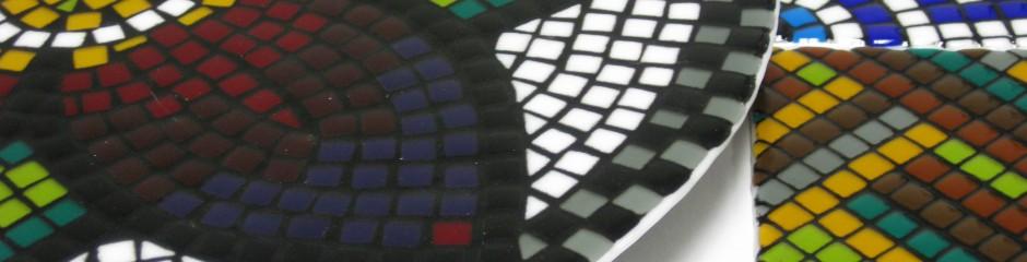 Course sample | G173 | Beginner/intermediate fusing: Mosaic Lazy Susan