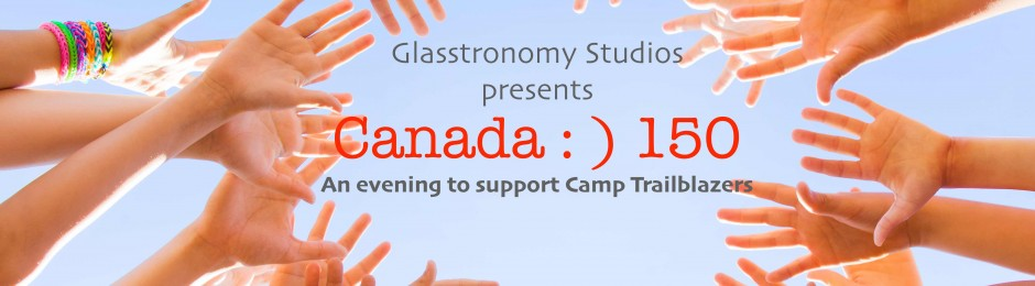 Fundraiser | Canada : ) 150: A night in support of Camp Trailblazers | Event logo (2017)